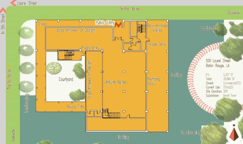 Site Plan - RESIDE ACADEMY (FALL 2016-SPRING 2017)